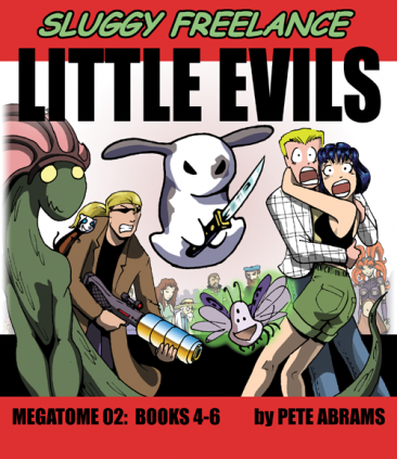 Book 04-06 (MegaTome02) - Little Evils HARDCOVER